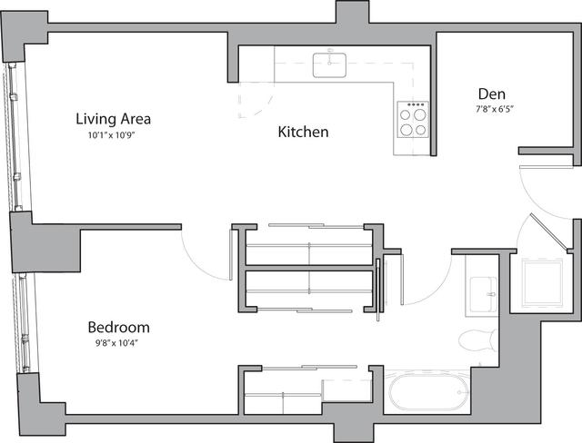 1 Bedroom, Shawmut Rental in Boston, MA for $3,430 - Photo 1