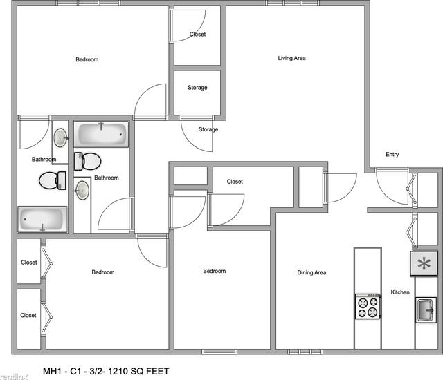 3 Bedrooms, Redbird Rental in Dallas for $1,338 - Photo 1