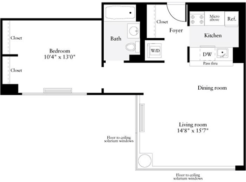 1 Bedroom, Murray Hill Rental in NYC for $4,646 - Photo 1