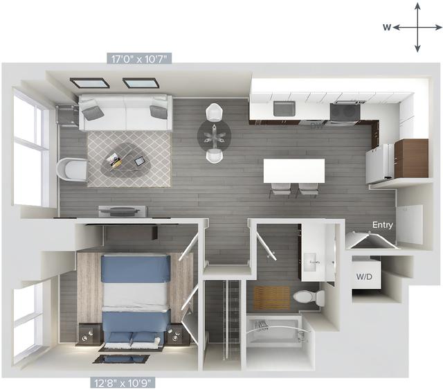 1 Bedroom, Downtown Boston Rental in Boston, MA for $3,390 - Photo 1
