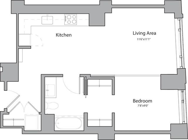 1 Bedroom, Shawmut Rental in Boston, MA for $3,340 - Photo 1