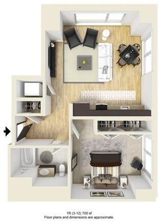 1 Bedroom, West Fens Rental in Boston, MA for $4,006 - Photo 1
