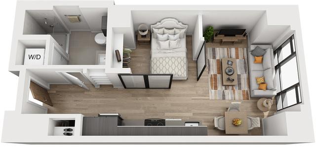 Studio, Shawmut Rental in Boston, MA for $2,495 - Photo 1