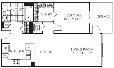 1 Bedroom, Little Tokyo Rental in Los Angeles, CA for $2,371 - Photo 1