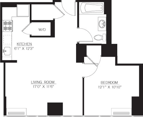 1 Bedroom, Downtown Brooklyn Rental in NYC for $3,904 - Photo 1