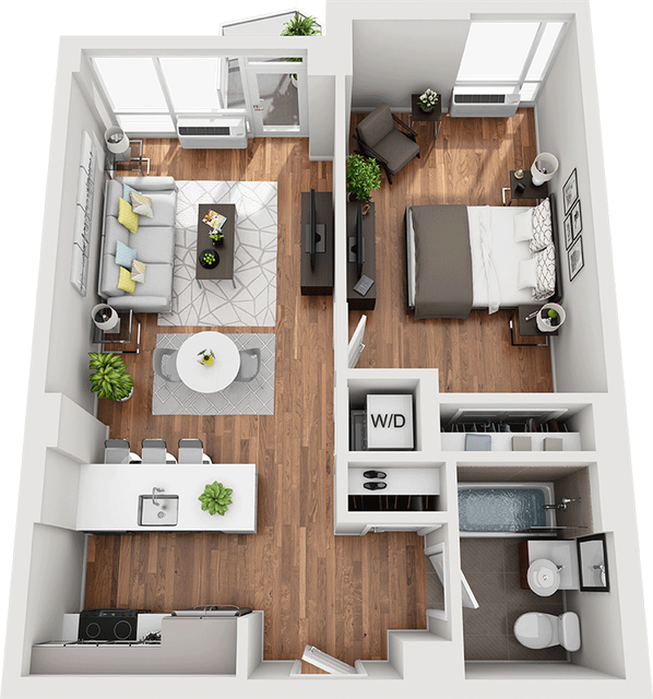 1 Bedroom, Williamsburg Rental in NYC for $3,870 - Photo 1