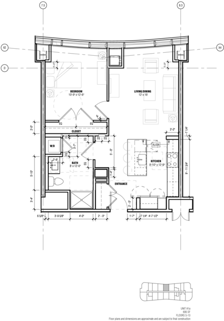 1 Bedroom, West Fens Rental in Boston, MA for $3,866 - Photo 1