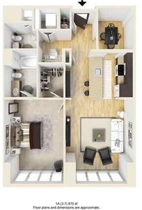 1 Bedroom, West Fens Rental in Boston, MA for $4,151 - Photo 1