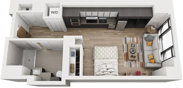 Studio, Shawmut Rental in Boston, MA for $2,685 - Photo 1