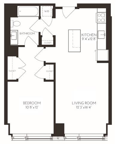 1 Bedroom, Seaport District Rental in Boston, MA for $4,445 - Photo 1