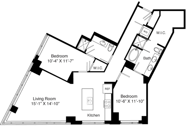 2 Bedrooms, Seaport District Rental in Boston, MA for $5,058 - Photo 1