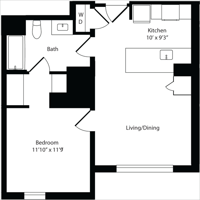 1 Bedroom, Harrison Lenox Rental in Boston, MA for $3,445 - Photo 1