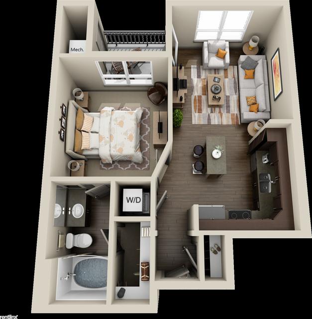 1 Bedroom, Grogan's Mill Rental in Houston for $940 - Photo 1