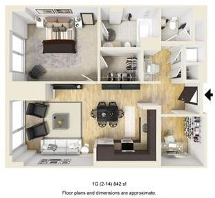 1 Bedroom, West Fens Rental in Boston, MA for $4,159 - Photo 1