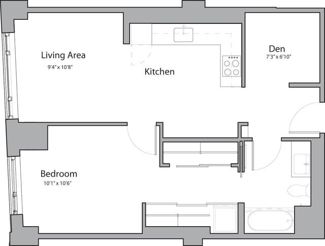 1 Bedroom, Shawmut Rental in Boston, MA for $3,290 - Photo 1