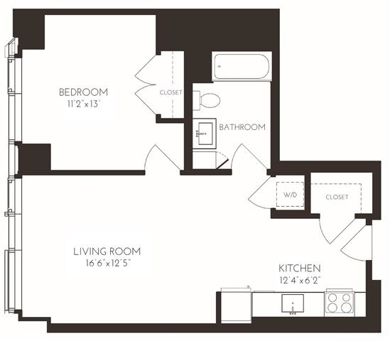 1 Bedroom, Seaport District Rental in Boston, MA for $4,035 - Photo 1