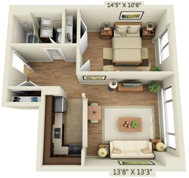 1 Bedroom, Chelsea Rental in NYC for $4,582 - Photo 1