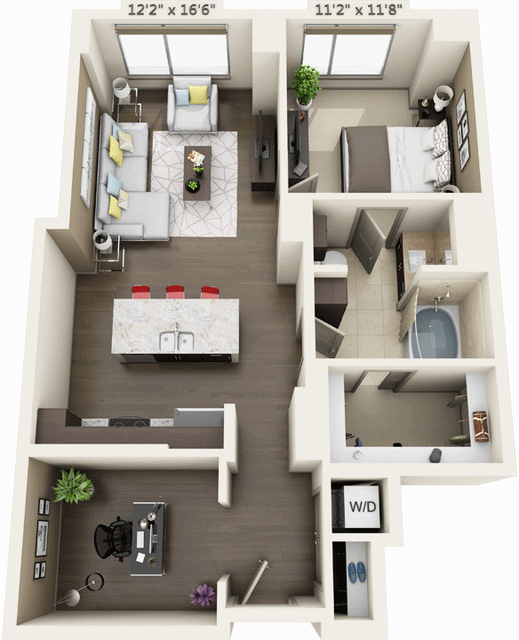 1 Bedroom, Seaport District Rental in Boston, MA for $3,723 - Photo 1