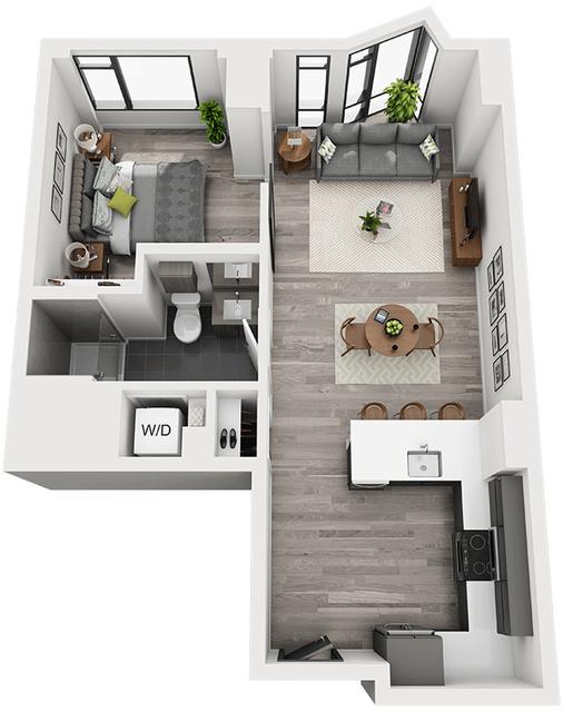 1 Bedroom, Shawmut Rental in Boston, MA for $3,609 - Photo 1