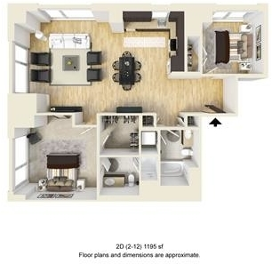 2 Bedrooms, West Fens Rental in Boston, MA for $5,631 - Photo 1
