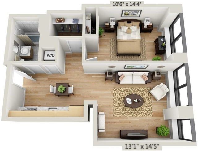 1 Bedroom, Financial District Rental in NYC for $4,213 - Photo 1