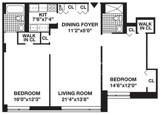 2 Bedrooms, Battery Park City Rental in NYC for $5,450 - Photo 1