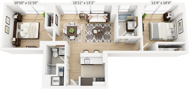 2 Bedrooms, Manhattan Valley Rental in NYC for $6,007 - Photo 1