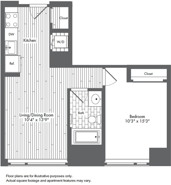 1 Bedroom, Seaport District Rental in Boston, MA for $3,095 - Photo 1