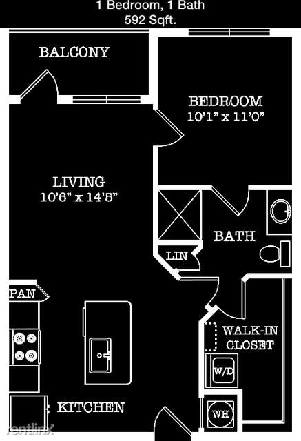 1 Bedroom, Van Zandt Park Rental in Dallas for $1,360 - Photo 1