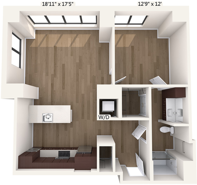 1 Bedroom, Downtown Boston Rental in Boston, MA for $3,850 - Photo 1