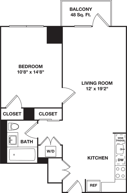 1 Bedroom, Hell's Kitchen Rental in NYC for $4,869 - Photo 1
