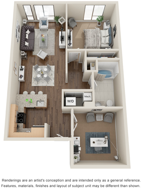 1 Bedroom, Seaport District Rental in Boston, MA for $3,805 - Photo 1