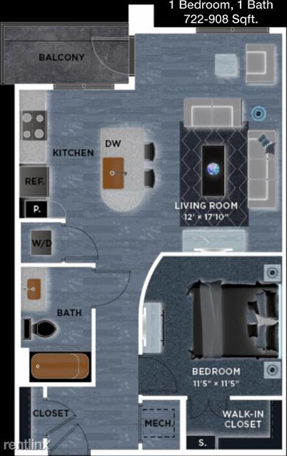 1 Bedroom, McKinney Rental in Dallas for $1,185 - Photo 1