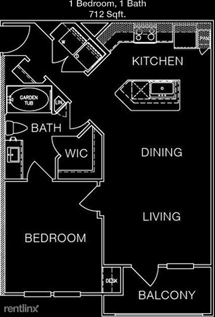 1 Bedroom, Eldridge - West Oaks Rental in Houston for $1,033 - Photo 1