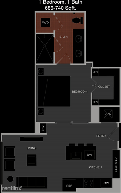 1 Bedroom, Memorial Heights Rental in Houston for $1,709 - Photo 1