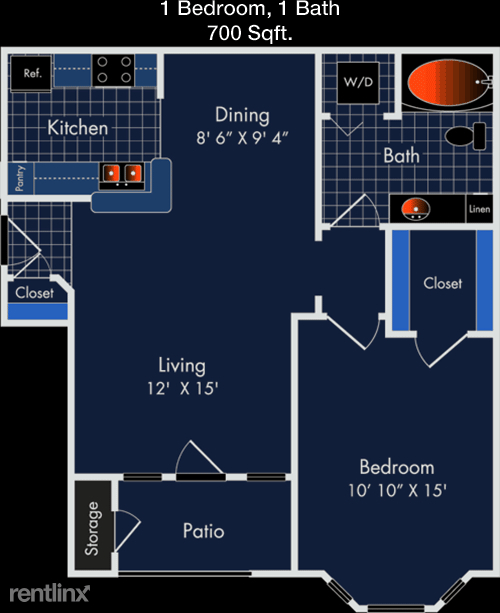 1 Bedroom, South Houston Gardens Rental in Houston for $960 - Photo 1