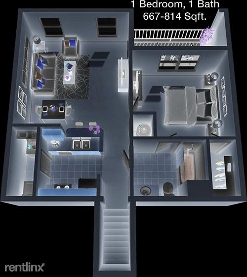 1 Bedroom, Eldridge - West Oaks Rental in Houston for $1,075 - Photo 1
