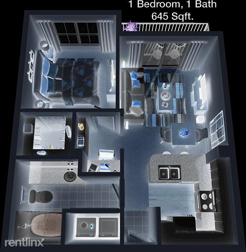 1 Bedroom, Memorial Heights Rental in Houston for $1,103 - Photo 1