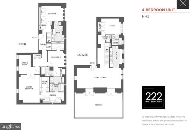 4 Bedrooms, Rittenhouse Square Rental in Philadelphia, PA for $8,995 - Photo 1