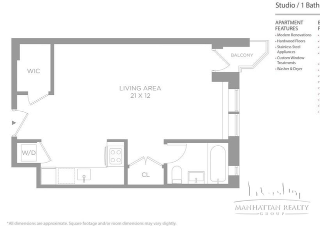 Studio, Chelsea Rental in NYC for $3,754 - Photo 1