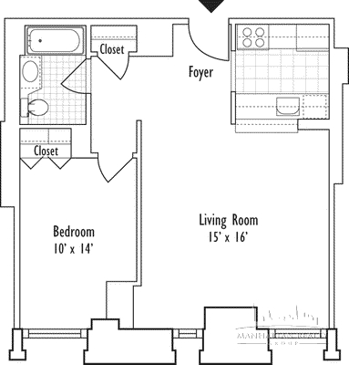 Studio, Turtle Bay Rental in NYC for $3,650 - Photo 1