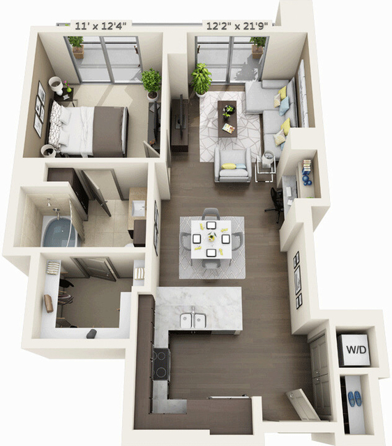 1 Bedroom, Seaport District Rental in Boston, MA for $3,678 - Photo 1