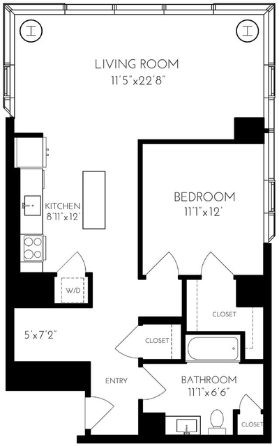 1 Bedroom, Seaport District Rental in Boston, MA for $4,769 - Photo 1
