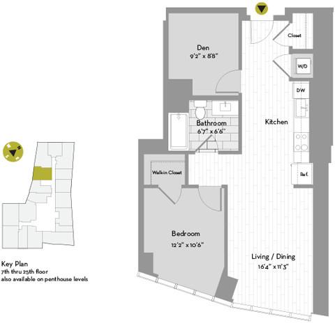 1 Bedroom, St. Marks Rental in Boston, MA for $3,996 - Photo 1