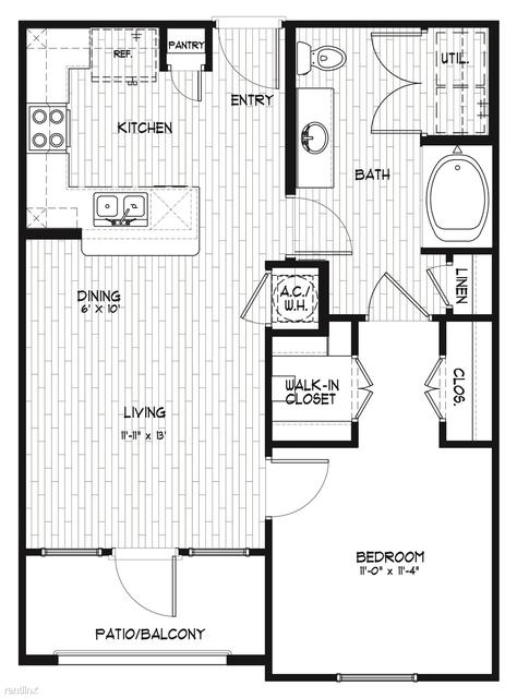 1 Bedroom, Grand Harbor Rental in Houston for $1,010 - Photo 1