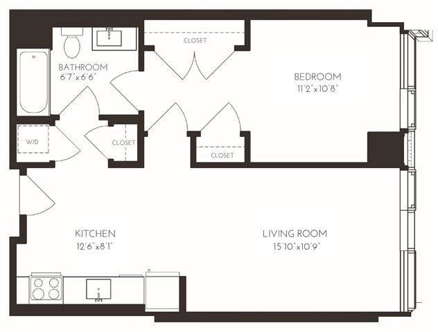 1 Bedroom, Seaport District Rental in Boston, MA for $4,034 - Photo 1