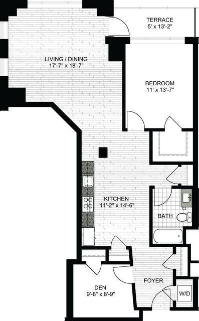 1 Bedroom, Downtown Boston Rental in Boston, MA for $3,930 - Photo 1