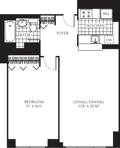 1 Bedroom, Chelsea Rental in NYC for $5,039 - Photo 1