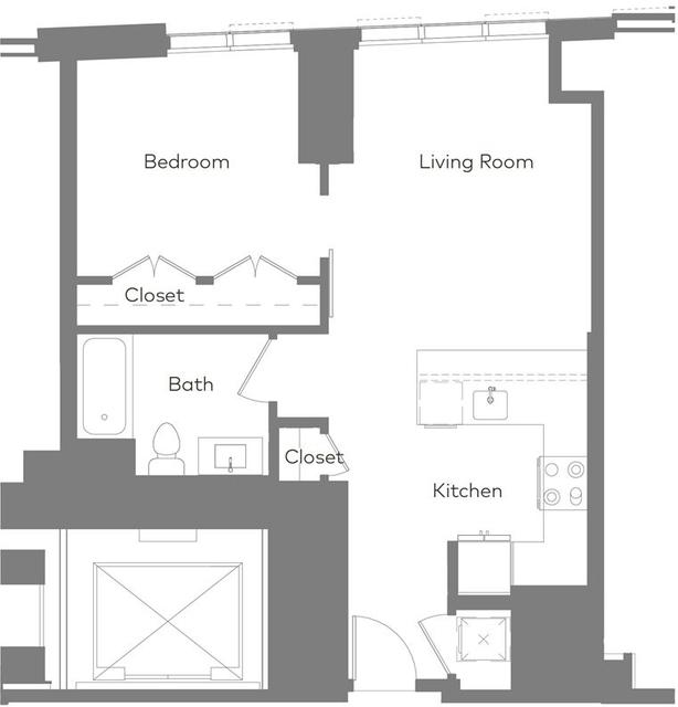 1 Bedroom, Kenmore Rental in Boston, MA for $5,004 - Photo 1