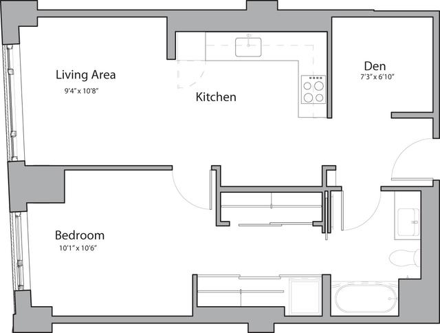 1 Bedroom, Shawmut Rental in Boston, MA for $3,600 - Photo 1